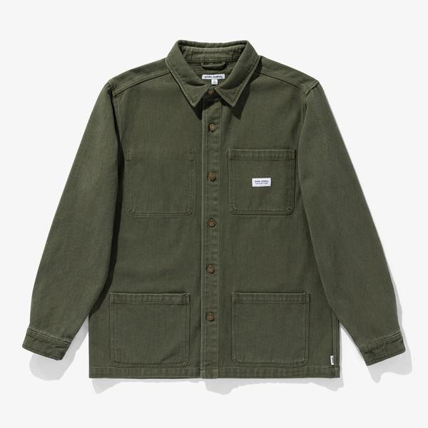 BANKS JOURNAL // DRIFTER JACKET // Olive Military