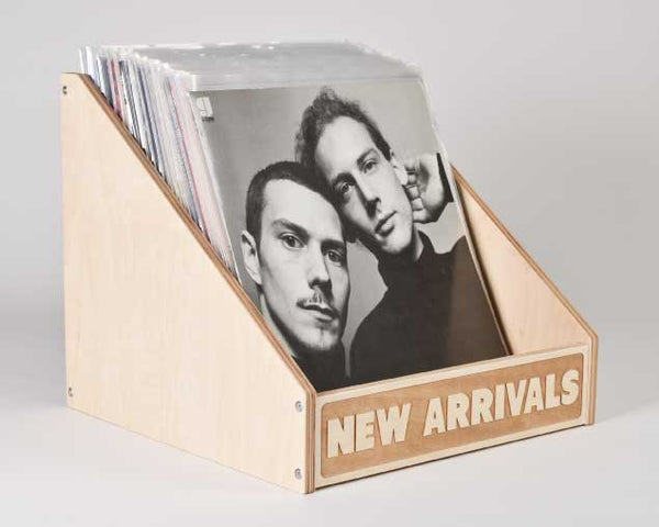 VINYL RECORD STORAGE // New Arrivals Bin Straight Sides A