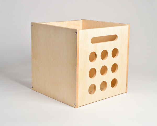 Deluxe Deep Groove Record Crate - Airwood Design