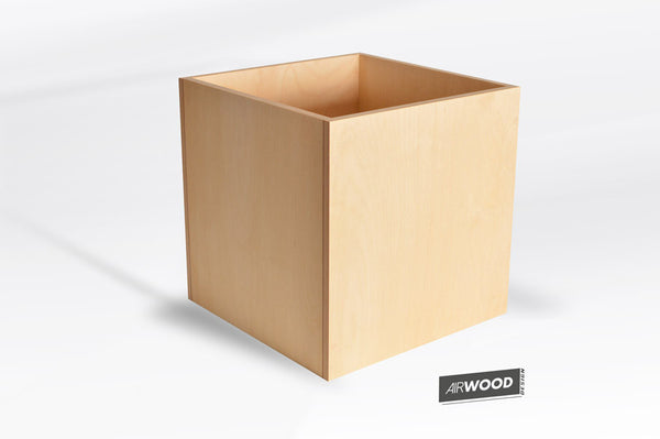 Vinyl Record Cube Crate by Airwood Design
