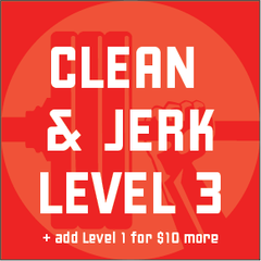 Clean & Jerk Program - Level 3 - Waxman's Gym