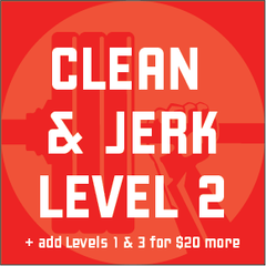 NEW: Clean & Jerk Program - Level 2