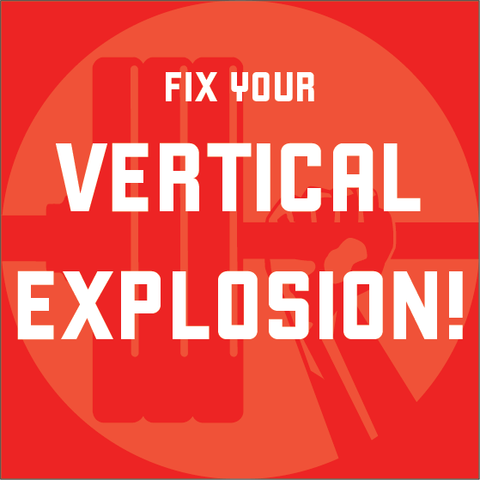 NEW: Fix Your Vertical Explosion! program - Waxman's Gym
