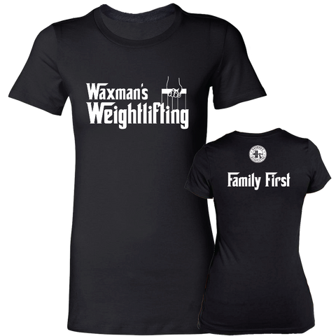 NEW: Women's Godfather T-shirt Black
