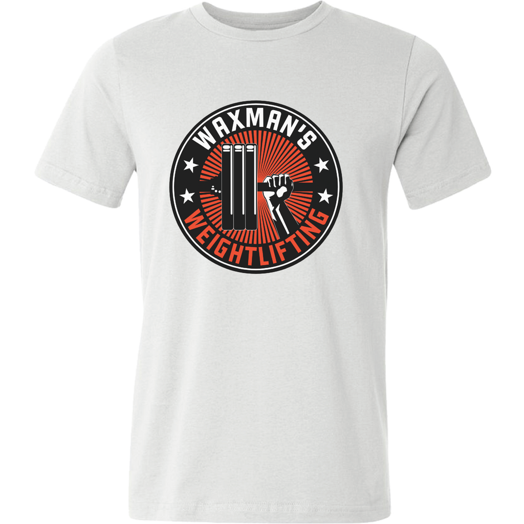 Men's Shut Up and Lift T-Shirt White - Waxman's Gym