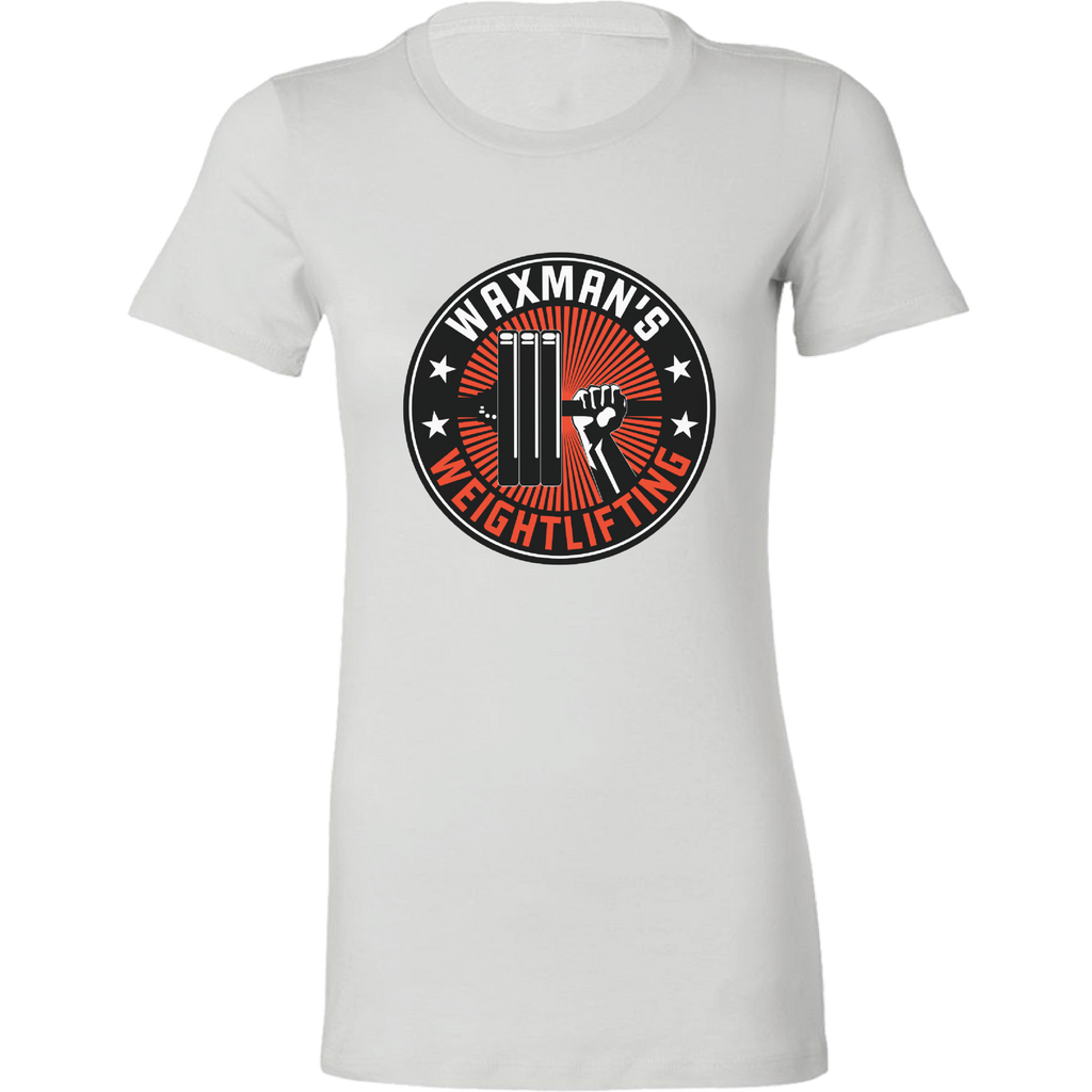 Women's Shut Up and Lift T-Shirt White - Waxman's Gym