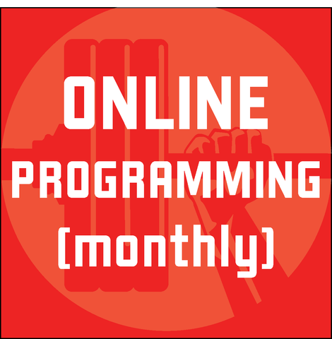 Online Programming Monthly - Individual - Waxman's Gym