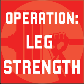 NEW: Operation: Leg Strength program - Waxman's Gym