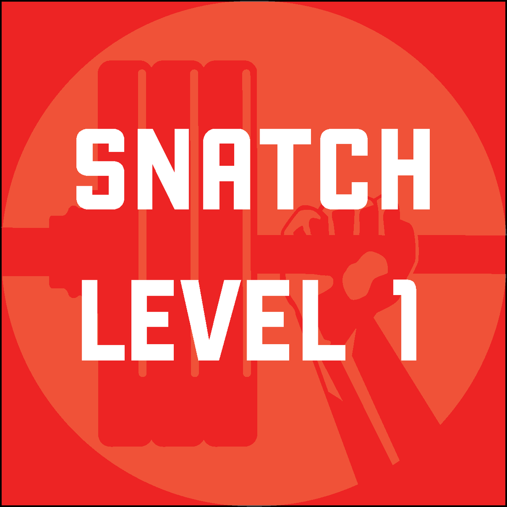 Snatch Program - Level 1 - Waxman's Gym