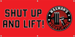 NEW: 6' x 3' Gym Banners - Waxman's Gym