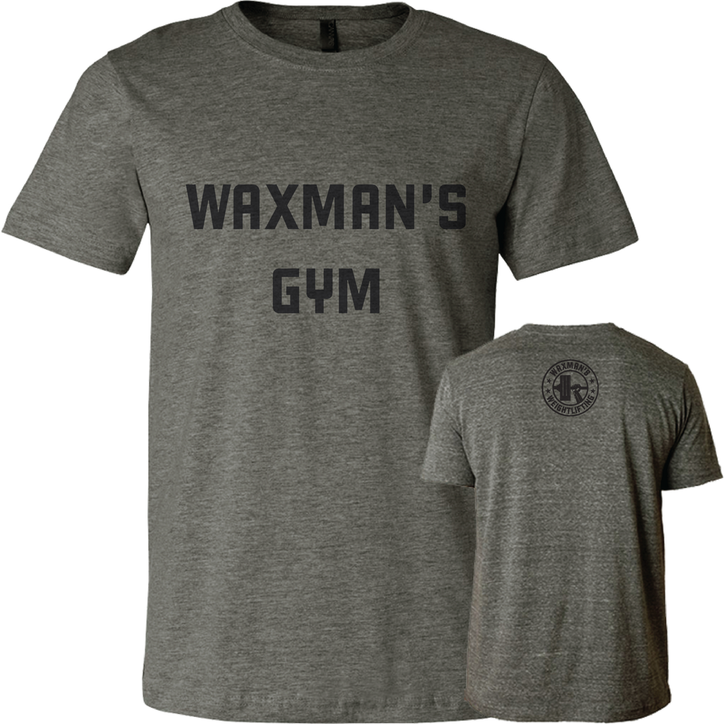 Men's Classic Gym Tee Deep Heather - Waxman's Gym