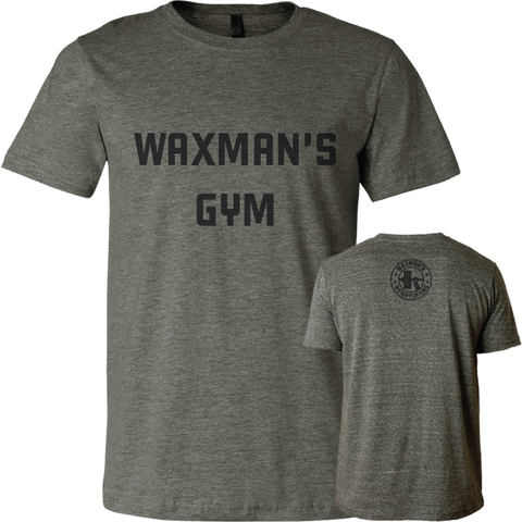 NEW: Men's Classic Gym Tee Deep Heather - Waxman's Gym