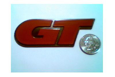 Red GT Badge
