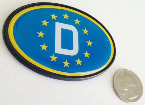 Oval EU Stars D - German Badge
