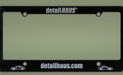 detailHAUS License Plate Frame - Stealth Black