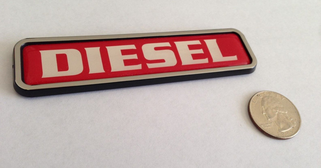 Red Diesel Euro Badge