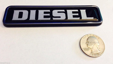 Black Diesel Euro Badge