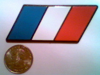 French Flag Racing Euro Badge