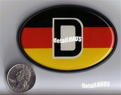 Oval Country D - German Badge
