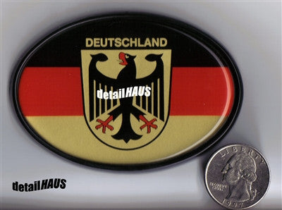 Oval Deutschland Crest - German Badge