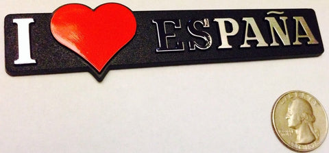 I love España - Red Heart Badge