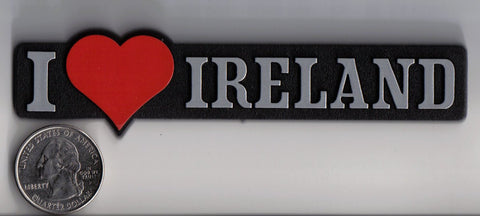 I love Ireland - Red Heart Badge