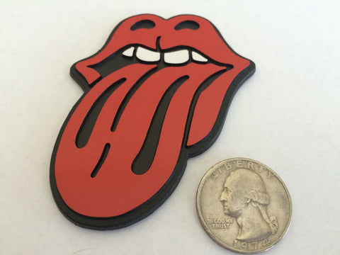 Red Tongue - Rockstar Badge