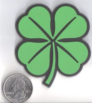 Green Shamrock - Lucky Irish Badge