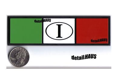 Italian Flag I Euro Badge