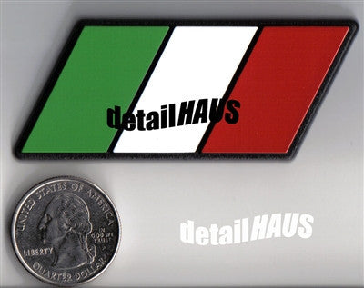 Italian Flag Racing Euro Badge