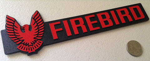 Red Firebird Badge