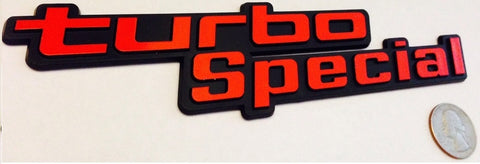 Red Turbo Special Badge