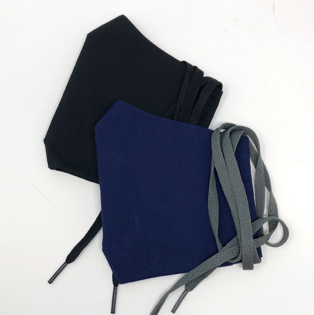 Cloth Face Mask - Solid Navy