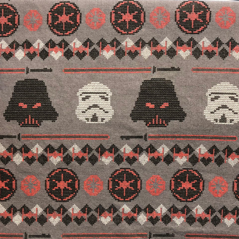 Cloth Face Mask - #206 - Star Wars Ugly Sweater Style Darth Vader