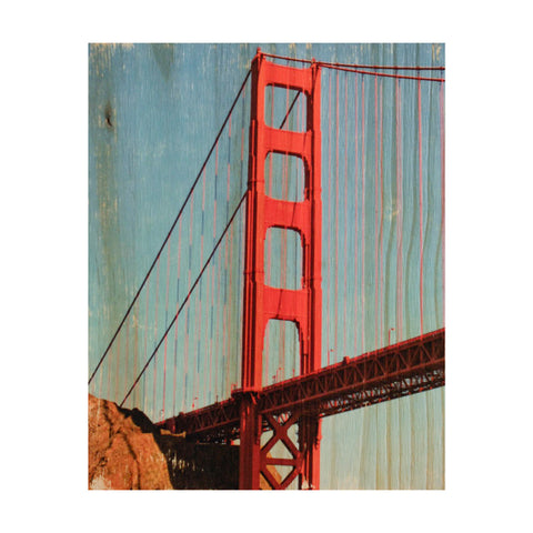 International Orange: Golden Gate Bridge - Rectangle or Square