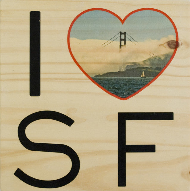 I Heart SF: Afternoon Fog - Square