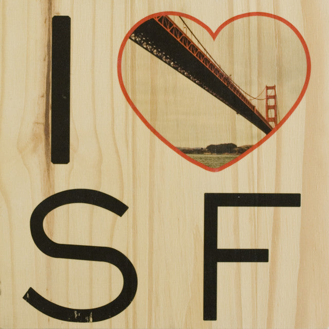 I Heart SF: Sailor's Golden Gate Bridge - Square