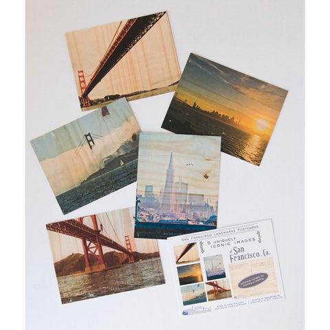 Postcard Set - San Francisco Pack #1