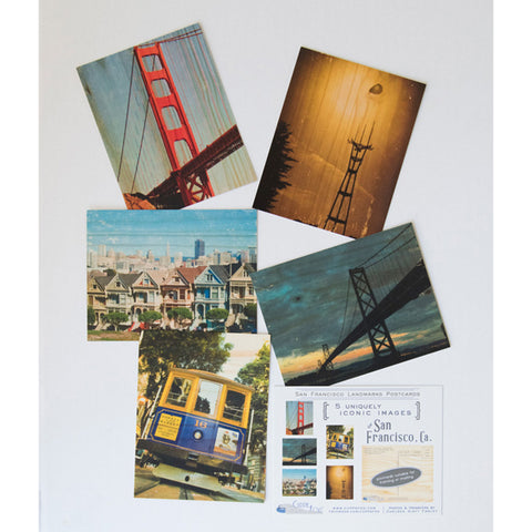 Postcard Set - San Francisco Pack #2