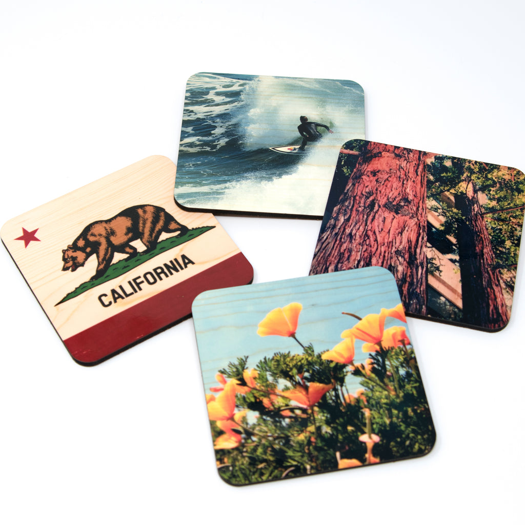 Northern California Landmarks Coasters