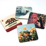 IN STOCK - Northern California Landmarks Coasters