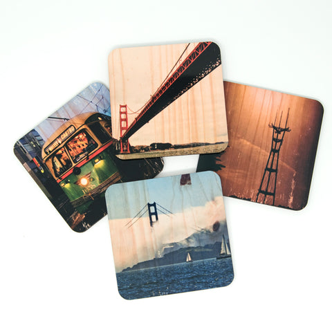 IN STOCK - San Francisco Landmarks Coasters - Set #2
