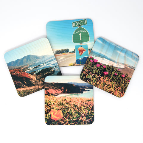 IN STOCK - Northern California Coastal Coasters