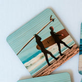 Northern California Surfers Coasters