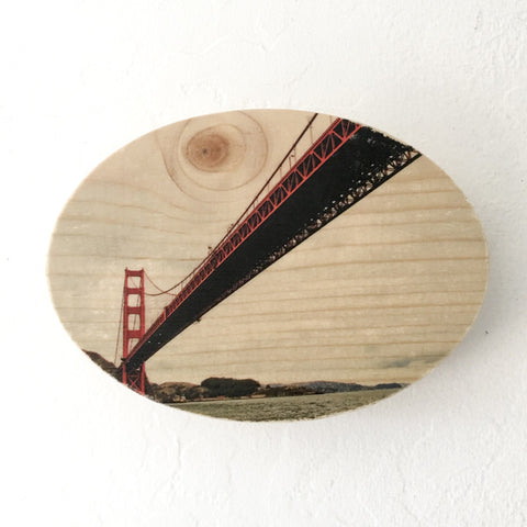 Sailor's View: Golden Gate Bridge - Round or Oval