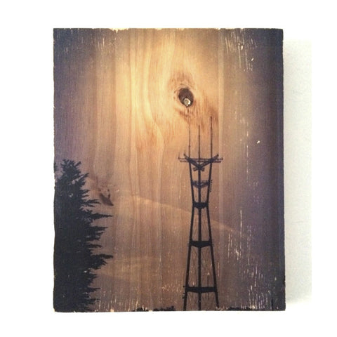 Sutro Tower Glow - Rectangle
