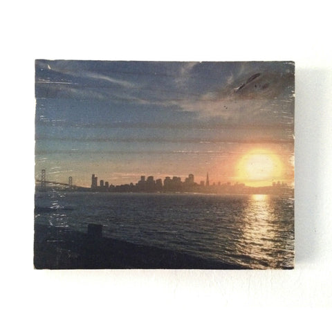 Sunset View from Treasure Island - Rectangle