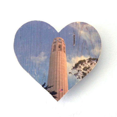 Towering Coit Tower - Heart