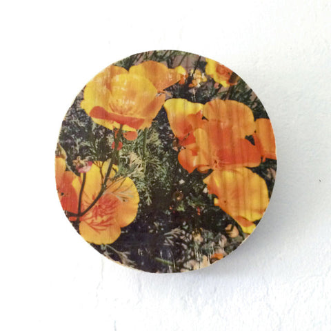 Springtime Poppies - Round or Oval