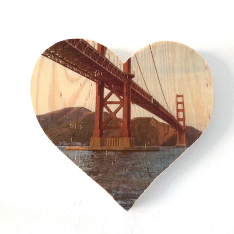 Dad's Golden Gate Bridge, Circa 1977 - Heart